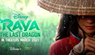 Sajikan Budaya Indonesia, Raya and The Last Dragon Tayang Hari Ini