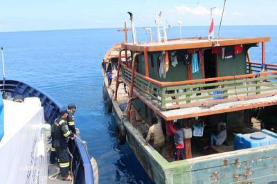 KKP Tegaskan Tak Ada Kapal Asing di Halmahera Tengah tapi...