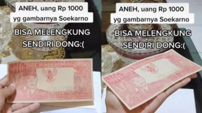 Viral Uang Rp1.000 Bergambar Soekarno Ditawar Rp5 Miliar, Harga di Pasaran Cuma Rp10.000