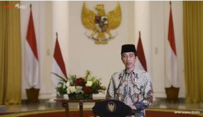 Jokowi: Indonesia Hadapi 3.253 Bencana di 2020, Tertinggi di Dunia