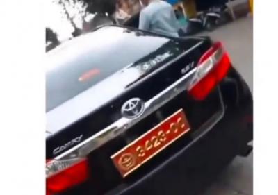 Viral Wanita Pamer Mobil Dinas Berpelat TNI, Kapuspen: Nomor Bodong!