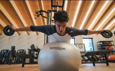 Jelang Bergulirnya MotoGP 2021, Marc Marquez Makin Getol Jalani Pemulihan