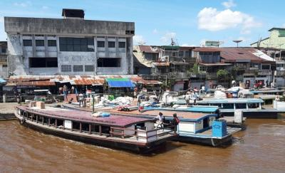 Pasar di Tepian Sungai Kapuas Pontianak Ditata untuk Destinasi Wisata