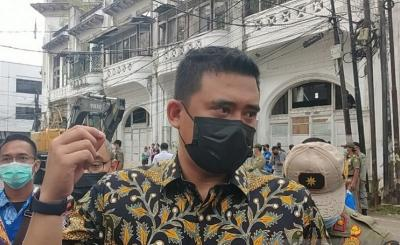 Bobby Nasution Ingin Sulap Kesawan Medan Jadi Kawasan Wisata Kuliner