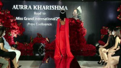 Ajang Miss Grand International Semakin Dekat, Ini Persiapan Aurra Kharishma
