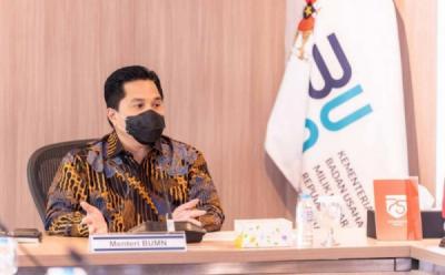 Jokowi Gaungkan Benci Produk Asing, Erick Thohir Pamer Sarinah