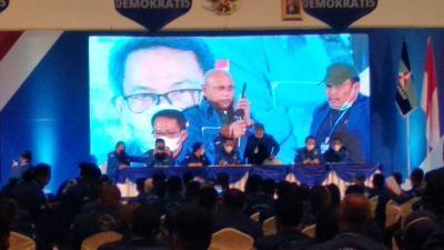 KLB Demokrat Cuma 40 Menit, Langsung Putuskan Moeldoko Ketua Umum