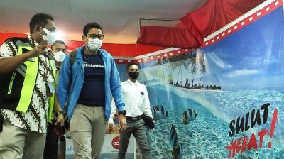 Kasus Covid-19 di Manado Terkendali, Sandiaga Uno: Kita Buka Kembali Pariwisata agar Bangkit