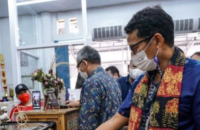 Sandiaga Uno Support Produk Lokal, Parekraf Bangkit Lagi