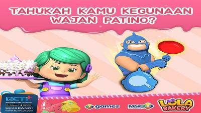 Dahsyatnya Ledakan Wajan Patino di Lola Bakery, Penasaran? Yuk mainkan Gamenya di Aplikasi RCTI+!