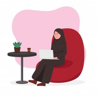 Syarat Hijab Syari Tidak Menggambarkan Adanya Lekukan Tubuh