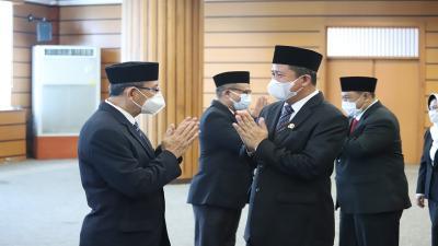 Usai Lantik 33 Pejabat Administrator dan Pengawas, Wali Kota Jakarta Utara: Jangan Korupsi