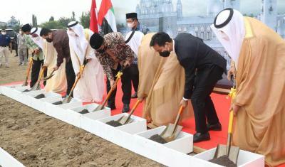 Pembangunan Masjid Pangeran Arab Mulai Digarap, Menag: Mercusuar Penyiaran Ajaran Islam