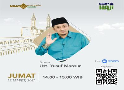 Antara BCAP, Ustaz Yusuf Mansur dan Launching Pembiayaan Syariah SIAP HAJI