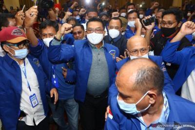 Jadi Ketum Demokrat KLB, Moeldoko Tak Akan Berani Mundur dari KSP