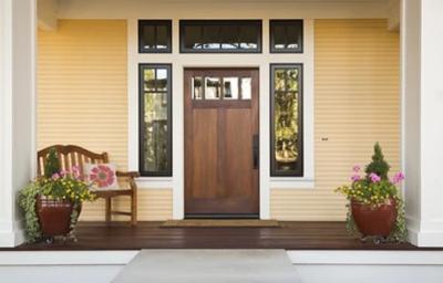 3 Aturan untuk Desain Area Depan Pintu Utama