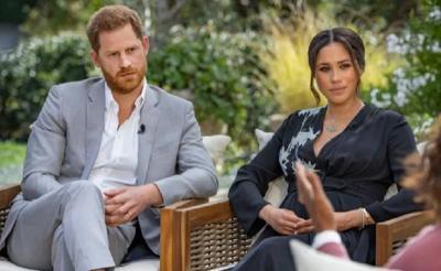 Makna Dress Hitam Meghan Markle saat Diwawancara Oprah