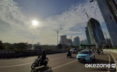 Awal Pekan, Cuaca Jakarta Cerah Berawan saat Pagi Hari