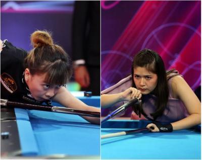 Turnamen Biliar Hot Nine: Echa Sudarto Melaju ke Semifinal Setelah Kalahkan Silviana Lu 3-1