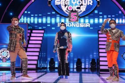 Ikke Nurjanah Bingung Memilih Mistery Singer Good Voice, Simak di I Can See Your Voice Indonesia Malam ini