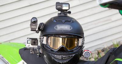 Mengenal Teknologi Kamera yang Terpasang di Helm Polisi Indonesia