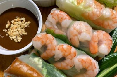 Cara Membuat Vietnamese Spring Roll, Camilan Malam Menyehatkan