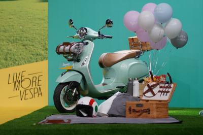 Vespa Picnic Limited Edition Resmi Meluncur di Indonesia