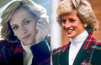 Gaya Kristen Stewart di Film Spencer, Sudah Mirip Putri Diana Belum?