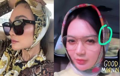 Adu Gaya Luna Maya Vs Wika Salim, Siapa Paling Cantik Pakai Hijab Scarf Jutaan Rupiah?