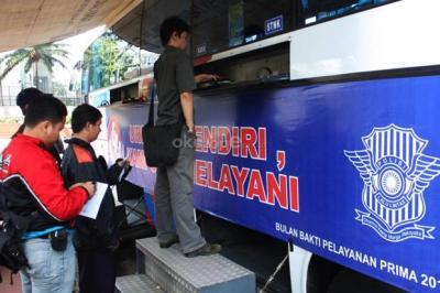 Berikut Lokasi Pelayanan SIM Keliling di Jakarta Hari Ini