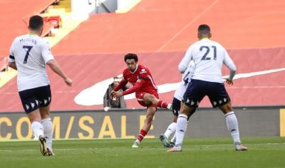 Liverpool Susah Payah Raih Tiga Poin saat Lawan Aston Villa