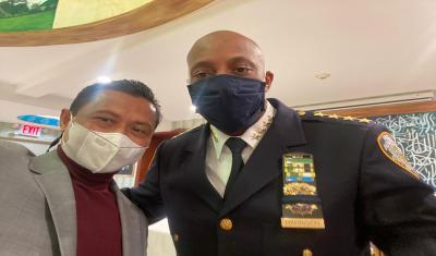 Pastikan Komunitas Muslim Aman, Kepala Polisi New York Kawal Masjid Islamic Center