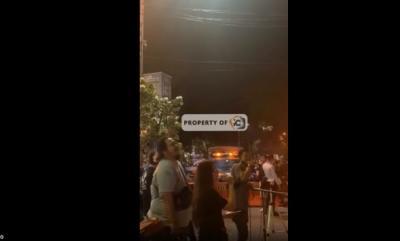 Konser Musik di Pasar Lama Tangerang Dijaga Petugas Satpol PP