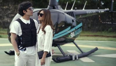 Aurel Hermansyah Pamer Tas Mungil Rp137 Juta Naik Helikopter, Netizen: Kecil Tapi Nampol