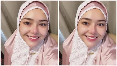 Amanda Manopo Pakai Mukena Jelang Ramadhan, Senyumnya Adem Banget!