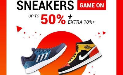 Ini Deretan Brand Sneakers Keren, Diskon Sampai 50% + 10% Hanya di The F Thing