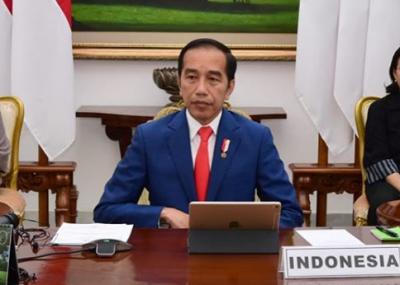 Di Depan Kanselir Jerman, Jokowi Pamer UU Cipta Kerja Permudah Investasi