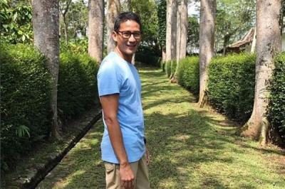 Deretan Momen Unik Sandiaga Uno, Kena Prank hingga Salfok Papa Online