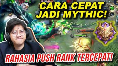 Tutorial Mudah Naik ke Rank Mythic di Mobile Legends ala Atlet Esport Aville
