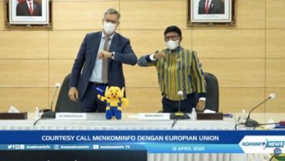 Indonesia Gandeng Uni Eropa Kembangkan Teknologi 5G