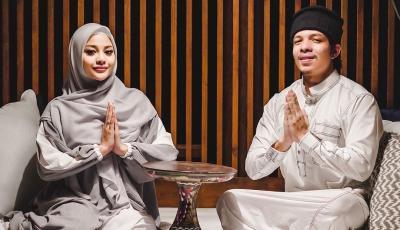 Cantiknya Aurel Berhijab Jalani Puasa Pertama sebagai Istri Atta, Netizen: Semoga Istiqomah