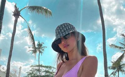 Jessica Iskandar Berjemur di Pantai, Netizen: Salah Satu Godaan Puasa