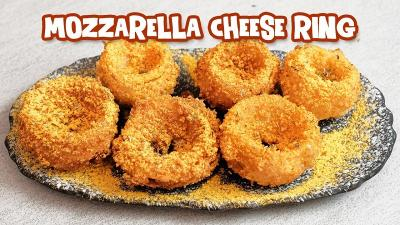 Resep Mozzarella Cheese Ring untuk Camilan Berbuka Puasa, Kriuknya Bikin Ngunyah Terus!