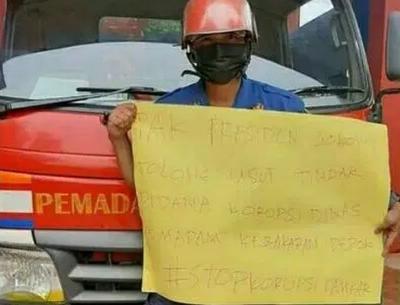 Perjuangkan Hak, Petugas Damkar Depok Bongkar Dugaan Korupsi di Tempatnya Bekerja