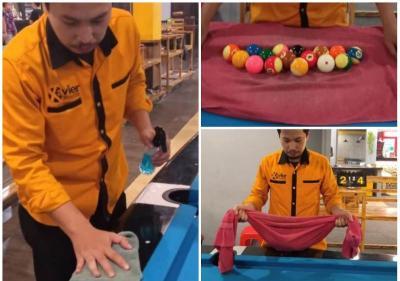 Tips Merawat Meja Biliar dari Coach Andre