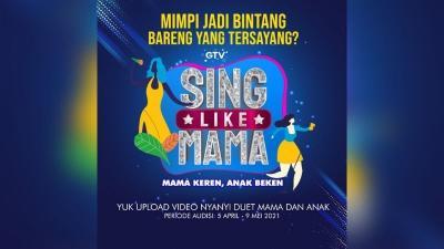 Mau Seperti Arsy dan Ashanty, Ikuti Audisi Online Sing Like Mama GTV