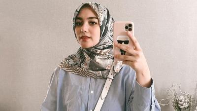 4 Gaya Hijab Citra Kirana, Simpel tapi Menawan!