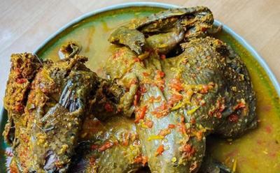 Ayam Betutu Hitam, Hidangan Lezat untuk Berbuka Puasa
