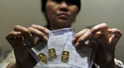 Harga emas Menguat, Terkecil Dibanderol Rp515.000