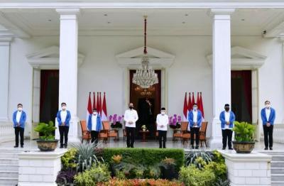 Pasca-Reshuffle Pertama Kabinet Jokowi, Siapa Menteri dengan Persepsi Positif Tertinggi?